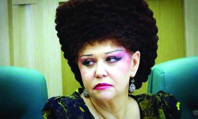 روسی خاتون سیاستدان کا ہیئر سٹائل توجہ کا مرکز بن گیا
