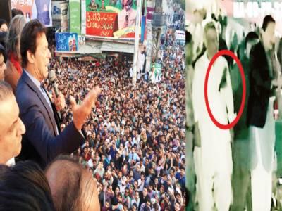 لٹیروں کو چوکوں میں لٹکائیں گے، عمران: گجرات خطاب کے دوران جوتا اچھال دیا گیا، علیم خان کو لگا