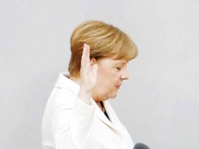 انجیلا مرکل چوتھی مد ت کیلئے بھی جرمنی کی چانسلر منتخب، حلف اٹھا لیا