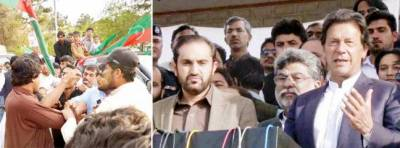 شاہد خاقان نے چیف جسٹس کے سامنے ہاتھ جوڑے ، عمران : سنجرانی کیخلاف بیان واپس نہ لیا تو اسلام آباد تک مارچ ہوگا، قدوس بزنجو