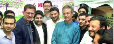 گرین کراچی وژن میئر کا 6 ماہ میں ایک لاکھ پودے لگا نے کا اعلان