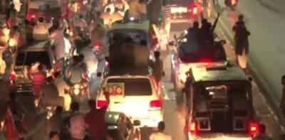 فیروز والہ:عمران کے قافلے میں شامل سکواڈ کی گاڑی کی ٹکر ، نوجوان جاں بحق