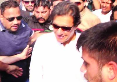 پنجاب کا آدھا بجٹ لاہور پر لگانے والے اچھا ہسپتال نہ بنا سکے ' شریفوں کے جیل جانے کا وقت آ گیا: عمران