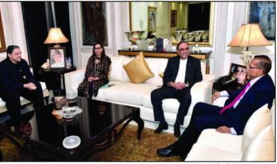 ; آصف علی زرداری سے سری لنکا کے سابق وزیر خارجہ کی ملاقات