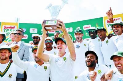 جنوبی افریقہ کی آسٹریلیا کیخلاف ٹیسٹ ہوم سیریز میں پہلی فتح
