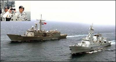 پاکستان اور ترک بحری افواج کے مابین پہلی دوطرفہ مشق اختتام پذیر