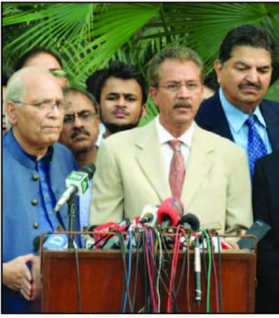 شہباز شریف سے وسیم اختر اور فاروق ستار کی ملا قات ، کراچی کی صورتحا ل پر گفتگو