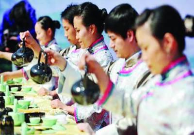چین میں8ویں سالانہ بین الاقوامی ٹی کلچر فیسٹیول کا آغاز