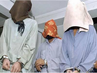 بین الاصوبائی ڈکیت گینگ کے 3 ملزم گرفتار، مال مسروقہ، اسلحہ برآمد