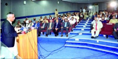 پانی انسانی زندگی کی بقا کے ساتھ ساتھ معاشی ترقی و خوشحالی کے لئے بھی ناگزیر ہے گورنر سندھ