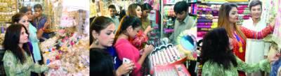 شہر میں تاحال عید شاپنگ سست روی کا شکار