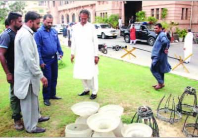 کے ایم سی بلڈنگ تاریخی ورثہ ہے اصل حالت میں بحال کرنے کے اقدامات کئے جا رہے ہیں میئر کراچی