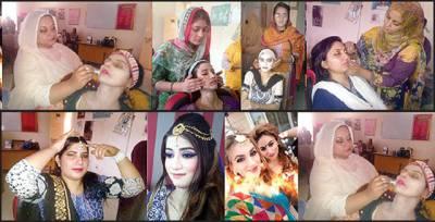 عید کی آمد: خواتین نے پارلرز کا رخ کر لیا' آن لائن بکنگ جاری