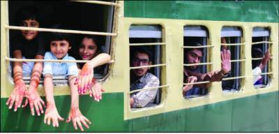 کراچی سے عید اسپیشل ٹرین روانہ