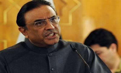 معاشی طور پر مضبوط پاکستان میرا مشن ہے: زرداری