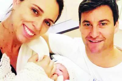 نیوزی لینڈ کی وزیراعظم کے ہاں بچی کی پیدائش بے نظیر بھٹو کے بعد دوسری عالمی شخصیت بن گئیں