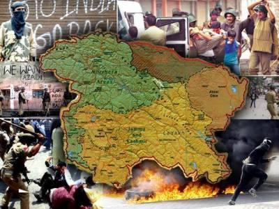 مقبوضہ کشمیر : بھارتی فوج کی نہتے مظاہرین پر فائرنگ لڑکی سمیت 3 شہید' برہان وانی کی برسی آج ہو گی