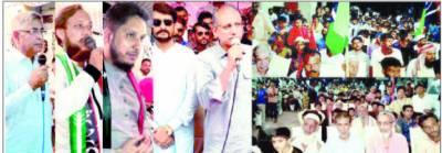 کراچی کے عوام جمہوریت کے استحکام کیلئے ووٹ دینگے'سعید غنی