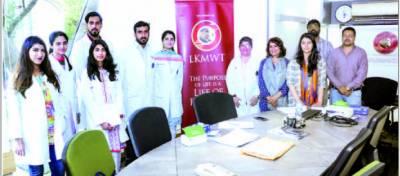 لطیف کپاڈیا میموریل ویلفیئرکی بیماریوں کے خلاف تحفظ کی آگاہی مہم