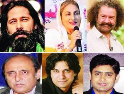 جواد احمد، ایوب کھوسو، ابرار الحق، ساجد حسن سمیت کئی گلوکار، اداکار انتخابی میدان میں