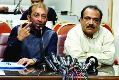 کراچی کی بیشتر نشستوں پر ہمیں ہرا یا گیا بیلٹ پیپر کا آڈٹ کرایا جائے فاروق ستار