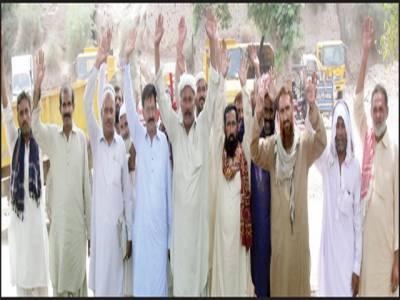 غازی یونین ملتان ویسٹ منیجمنٹ کمپنی کا میونسپل کارپوریشن کیخلاف احتجاجی مظاہرہ