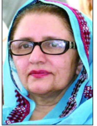 بلوچستان کی واحد خاتون رکن قومی اسمبلی زبیدہ جلال کی کامیابی کا نوٹیفکیشن جاری