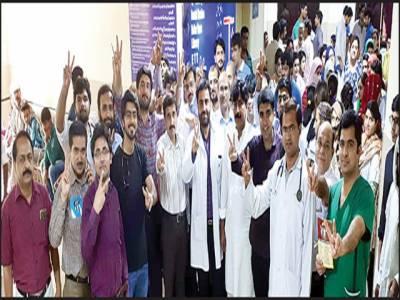 پائنیریونٹی کے وفد کی خزانچی نشتر میڈیکل یونیورسٹی سے ملاقات 19 پی جی آرز کی رکی ہوئی تنخواہ ادا کرنے کا مطالبہ