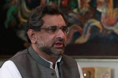 ;حمزہ کی خالی قومی نشست سے شاہد خاقان کو الیکشن لڑانے کا امکان