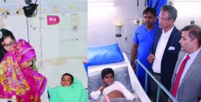 بجلی کے تار سے بچے معذور ہو گئے کے الیکٹرک کو شہریوں کے لئے عذاب بننے سے روکا جائے