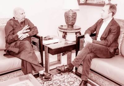 ترقی اور خوشحالی کے سفر میں پارٹنر ہیں، چودھری سرور سے برطانوی ہائی کمشنر کی ملاقات