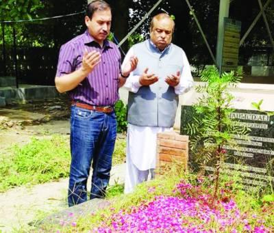 محمود علی متحدہ پاکستان کے داعی عظیم محب وطن تھے: شاہد رشید