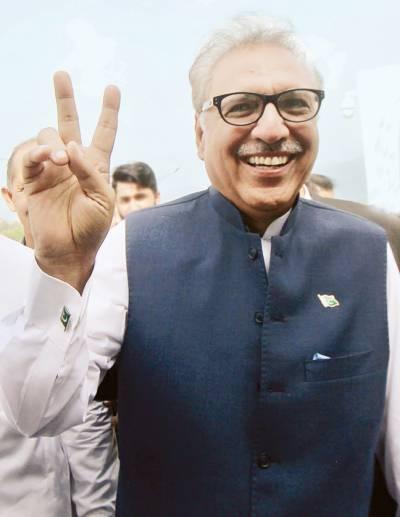 عارف علوی صدر پاکستان