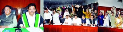 بلدیہ لاہور کا 20واں اجلاس شدیدہنگامہ آرائی کی نذر ہوگیا