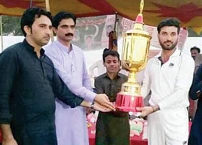 اسلم شہید میموریل نے خان کلب حویلی نصیر خان کو 26رنز سے ہرا دیا