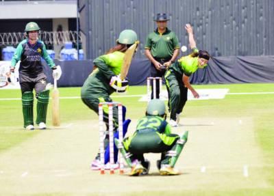 پاکستان خواتین کرکٹ ٹیم کا ہائی پرفارمنس کیمپ جاری، پریکٹس میچ میں گرین ٹیم کی فتح