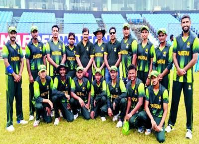 پاکستان ڈیف ٹیم نے افتتاحی میچ میں میزبان بنگلہ دیش ٹیم کو 38 رنز سے شکست دیدی
