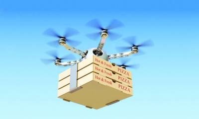 پاکستان میں بھی ڈرون سے پیزا ڈیلیوری