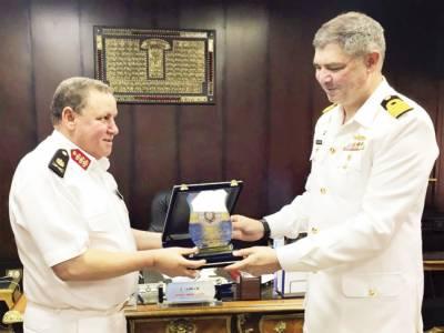 پی این ایس سیف کا مصرکی بندرگاہ الیگزینڈریا کا تربیتی و خیر سگالی دورہ