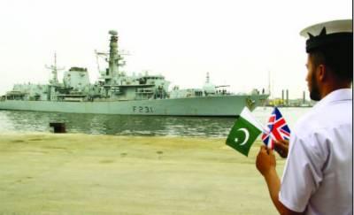 رائل نیوی کا جہاز 3روزہ دورے پر کراچی پہنچ گیا