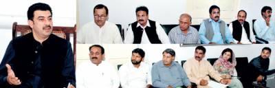 مزدوروں کے حقو ق کا خیال ر کھنا حکو مت کی اولین تر جیح ہے، انصار مجید خان