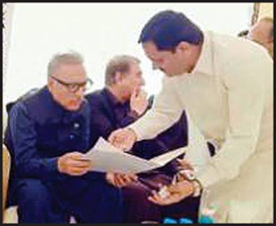 صدر ڈاکٹر عارف علوی سے رانا عبدالجبار کی ملاقات ایم ڈی اے اورو اسا کے مسائل سے آگاہ کیا