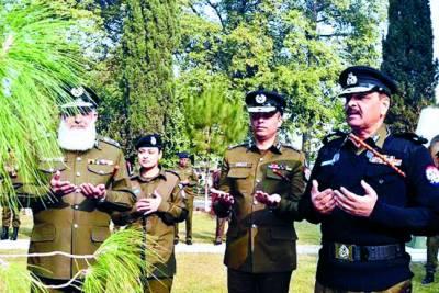 آئی جی پنجاب پولیس نے راولپنڈی پولیس لائنز میں ریسورس مینجمنٹ سنٹر کا افتتاح کردیا