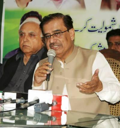 عمران خان مڈٹرم الیکشن کرائیں ' ن لیگ تیار ہے:شاہ محمد شاہ
