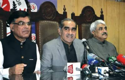 پہلی حکومت ہے جو سو دن بعد قبل از وقت الیکشن کی بات کررہی ہے: سعد رفیق