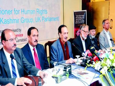 عالمی برادری مسئلہ کشمیر کے منصفانہ حل کیلئے کردار ادا کرے' راجہ ظفر الحق