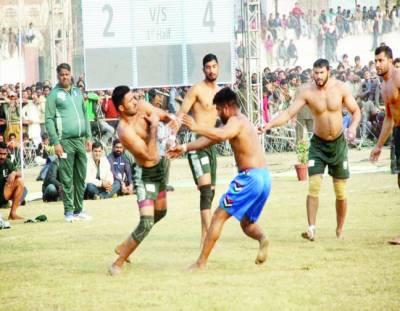 انٹر نیشنل کبڈی : پاکستان وائٹ نے بھارت 'گرین نے ایران کو ہرا دیا