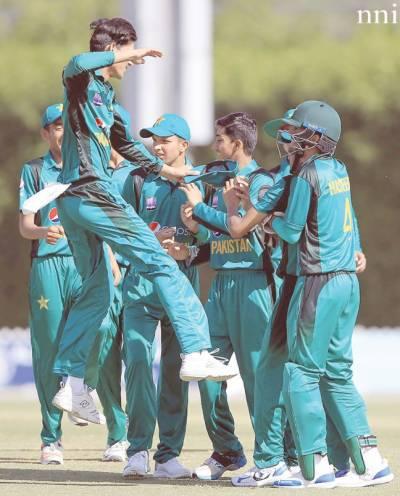 پاکستان انڈر 16 نے آسٹریلیا کو4 وکٹوں سے ہرادیا