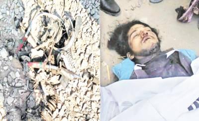 مریدکے: ٹرین کی زد میں آکر 22 سالہ نوجوان جاں بحق، موٹرسائیکل 2 ٹکڑوں میں تقسیم