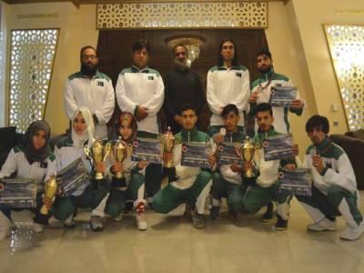 انٹرنیشنل کک باکسنگ میں ایران کی پہلی ،پاکستان کی دوسری پوزیشن